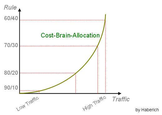 Cost-Brain-Allocation by Haberich